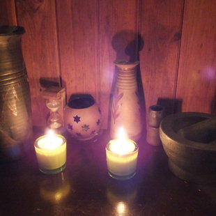 dabīgā vaska svece, kas par aromātu!